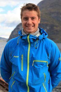 Kent Roger Tangvik under innspillengen av 71 grader nord.Foto: Matti B. Pedersen