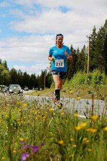Inger-Lise Aamot løper St. Olavsloppet